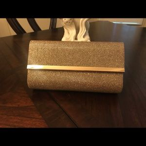 bareMinerals Sparkling Gold Makeup bag